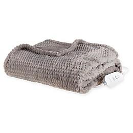 Brookstone® n-a-p® Heated Faux Fur Throw