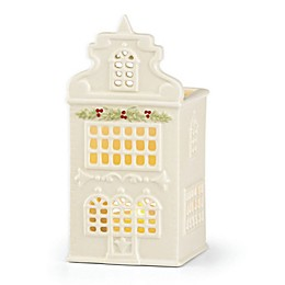 Lenox® Illuminations Canal House with Window Garland Votive Holder in Ivory