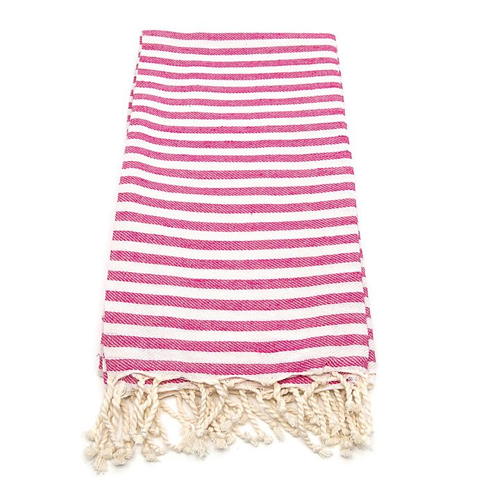 Alternate image 1 for Linum Home Fun in the Sun Fouta Beach Towels