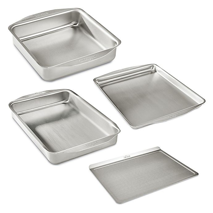 Alternate image 1 for All-Clad D3 Stainless Ovenware Bakeware Collection