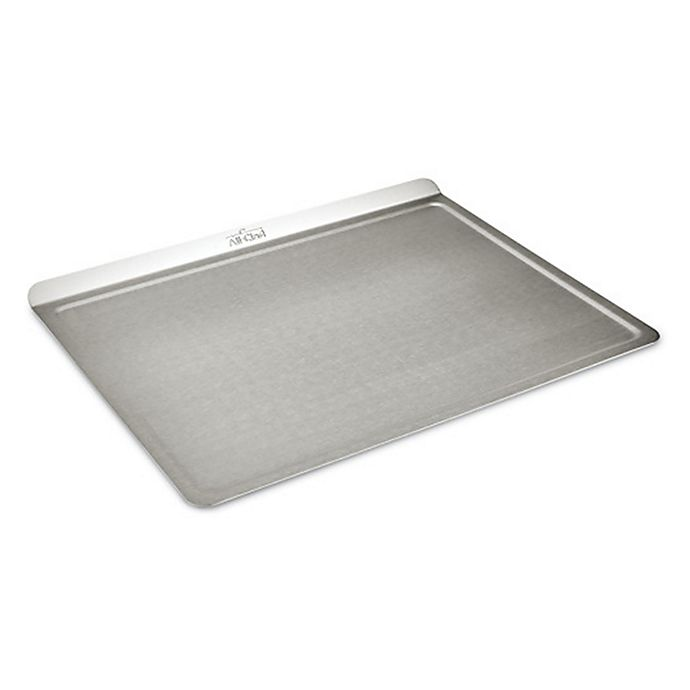 Alternate image 1 for All-Clad D3 Stainless Ovenware 14-Inch x 17-Inch Roasting Sheet