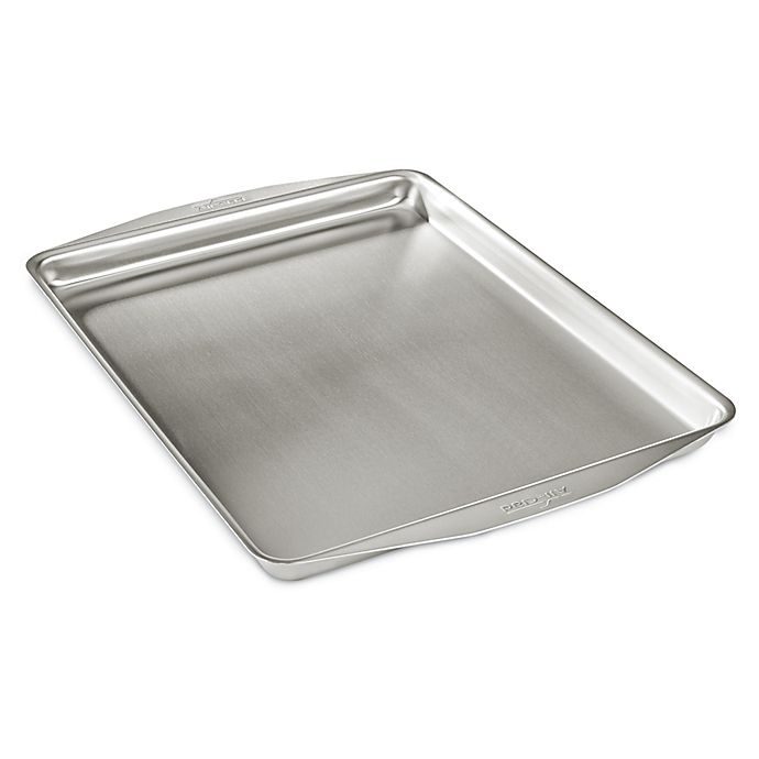 Alternate image 1 for All-Clad D3 Stainless Ovenware 12-Inch x 15-Inch Jelly Roll Pan