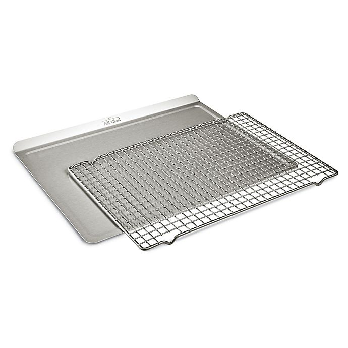 Alternate image 1 for All-Clad D3 Stainless Ovenware 2-Piece Bakeware Set