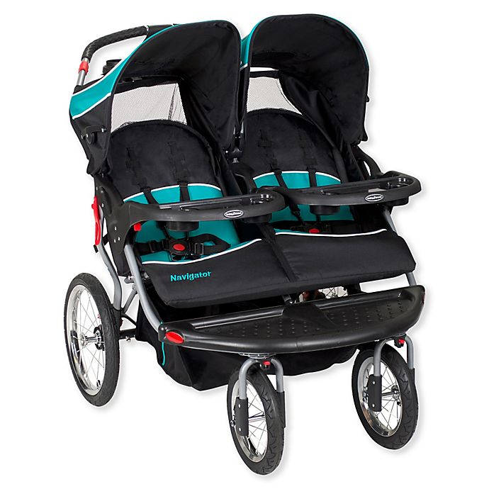 Alternate image 1 for Baby Trend® Navigator Double Jogger