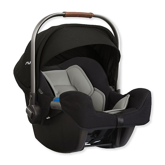 Alternate image 1 for PIPA™ by Nuna® Infant Car Seat with Base in Caviar