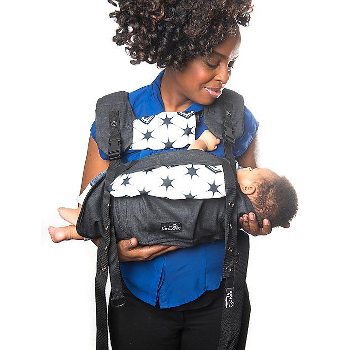 Alternate image 1 for GoGoVie Multi-Position Baby Carrier in Black