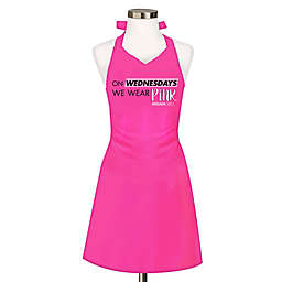 """Mean Girls """"On Wednesday We Wear Pink"""" Apron in Pink"""