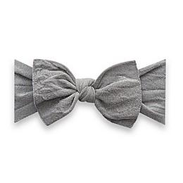 Baby Bling Shimmer Knot Headband in Silver