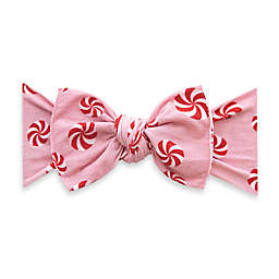 Baby Bling Peppermint Knot Headband in Pink