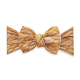 Baby Bling Mustard Leaf Knot Headband