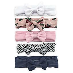 Curls & Pearls 5-Pack Mini Bow Headbands