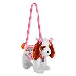 King Charles Puppy Purse in Pink