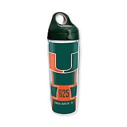 Tervis® University of Miami Spirit 24 oz. Wrap Water Bottle with Lid