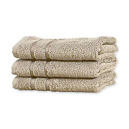 Cariloha® Turkish Cotton/Viscose Blend Hand Towels (Set of 3)