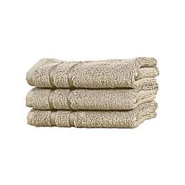 Cariloha® Turkish Cotton/Viscose Blend Washcloths (Set of 3)