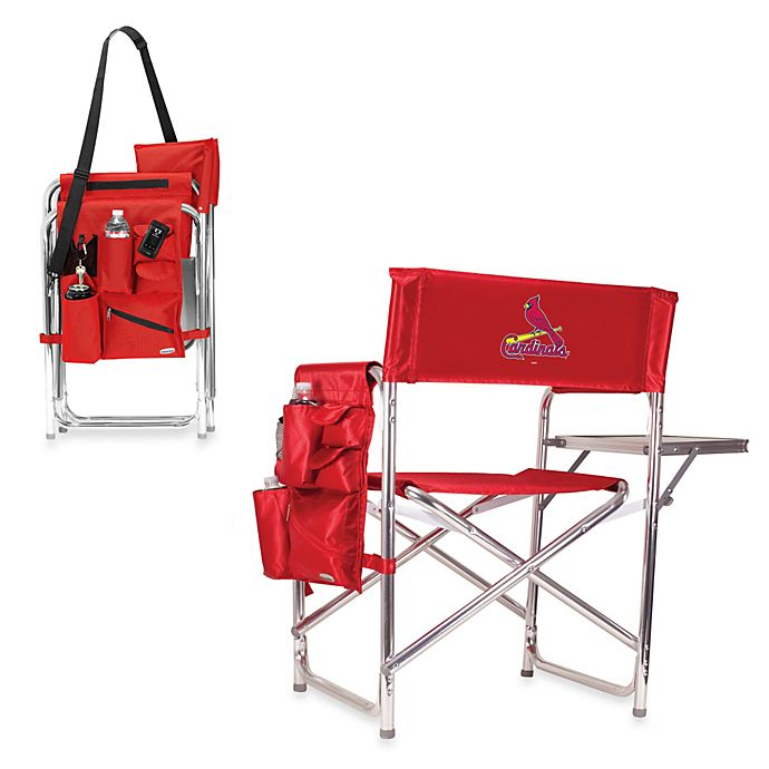 Alternate image 1 for Picnic Time® MLB St. Louis Cardinals Portable Sports Chair