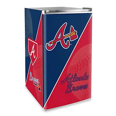 Atlanta Braves Licensed Counter Height Refrigerator