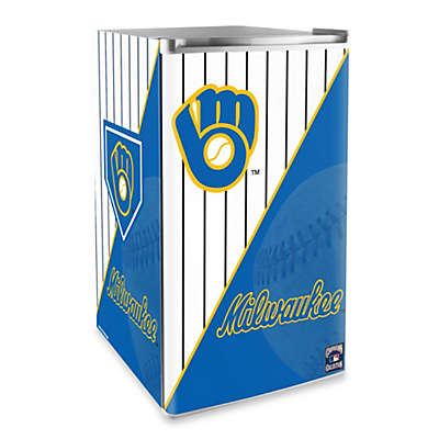 Milwaukee Brewers Licensed Counter Height Refrigerator