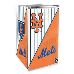 New York Mets Licensed Counter Height Refrigerator
