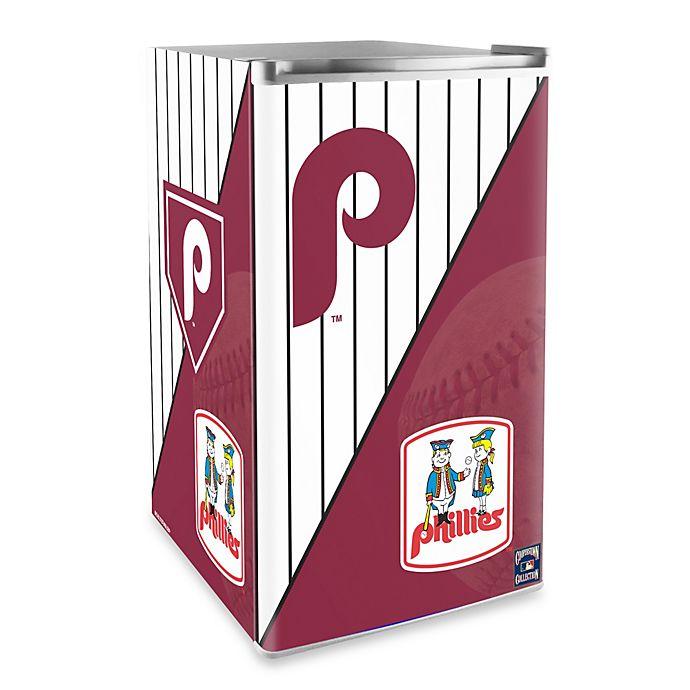 Alternate image 1 for Philadelphia Phillies Licensed Counter Height Refrigerator