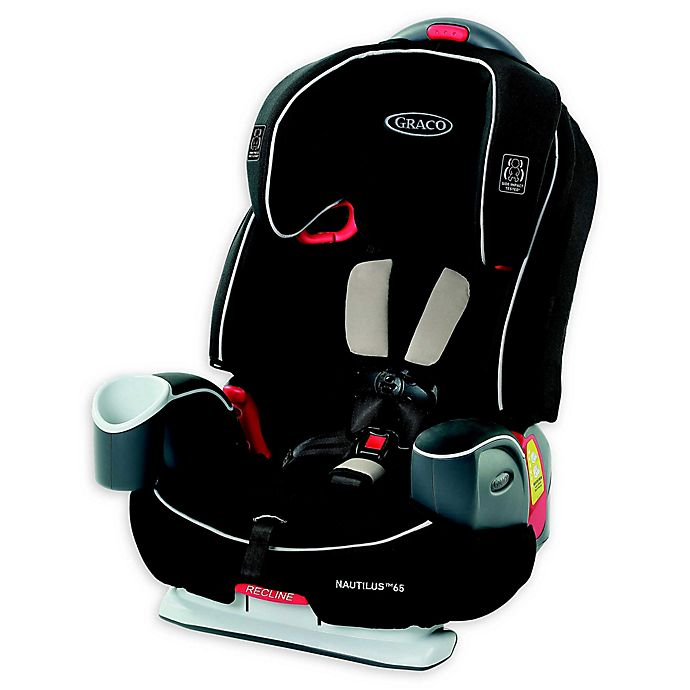 Alternate image 1 for Graco® Nautilus® 65 3-in-1 Harness Booster Car Seat in Black