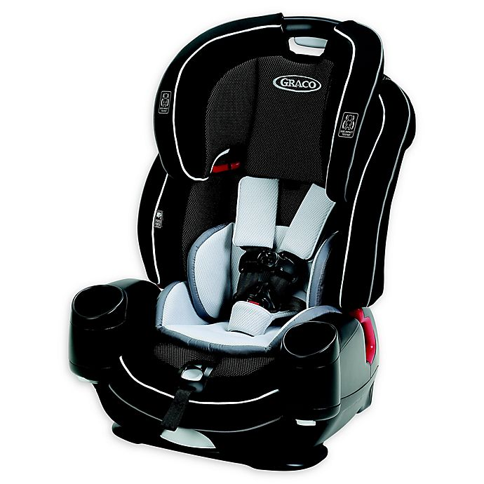 Alternate image 1 for Graco® Nautilus® SnugLock® 3-in-1 Harness Booster Car Seat in Black
