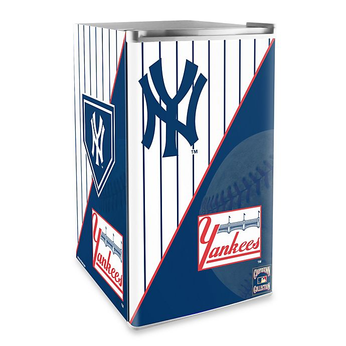 Alternate image 1 for New York Yankees Licensed Counter Height Refrigerator
