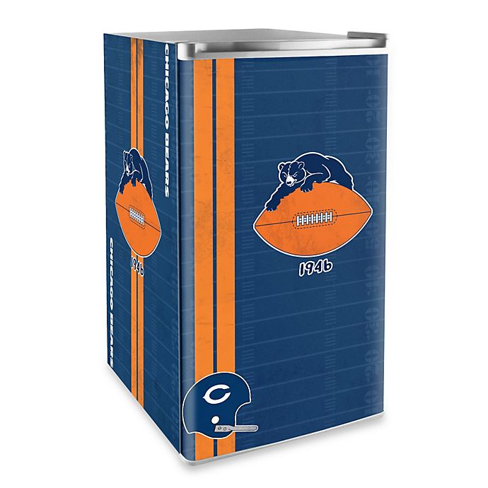 Alternate image 1 for NFL Chicago Bears Legacy Counter Height Refrigerator