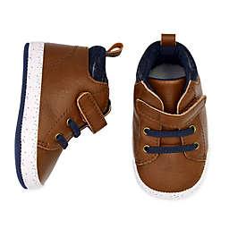 carter's® Navy Trim Boot in Brown