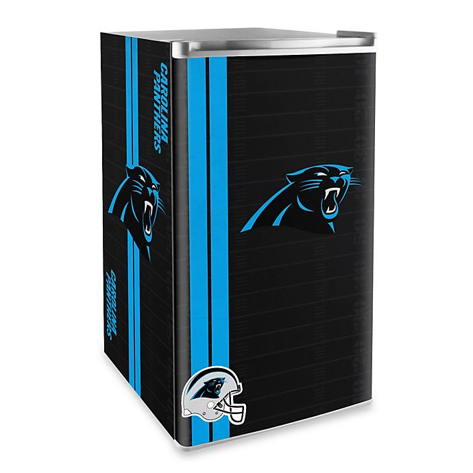 Alternate image 1 for NFL Carolina Panthers Legacy Counter Height Refrigerator