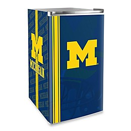 University of Michigan Licensed Counter Height Refrigerator