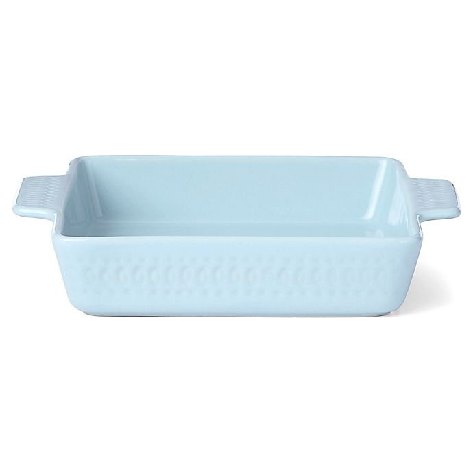 Alternate image 1 for kate spade new york Willow Drive Blue™ 7.75-Inch Square Baker