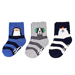 carter's® 3-Pack Chill Out Crew Socks