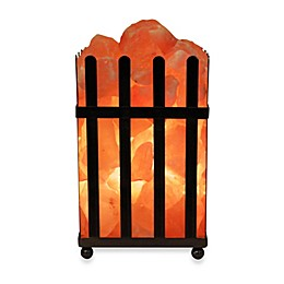 Himalayan Glow® Ionic Salt Crystal Picket Fence Lamp