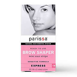 Parissa® 32-Count Natural Hair Removal Mini Wax Strips Eyebrow Design