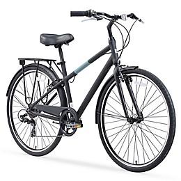 sixthreezero Reach Your Destination Men's 26-Inch 7-Speed Bike in Matte Black