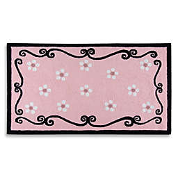 Princess Treasure 3-Foot x 5-Foot Area Rug