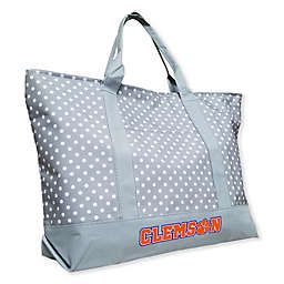 Clemson University Dot Tote Bag