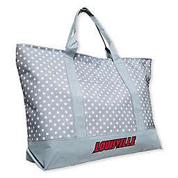 University of Louisville Dot Tote Bag