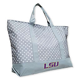 Louisiana State University Dot Tote Bag