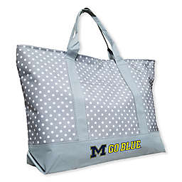 University of Michigan Dot Tote Bag