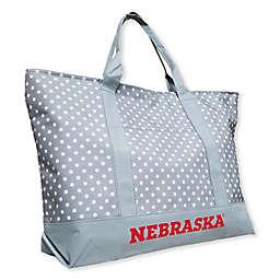 University of Nebraska Dot Tote Bag