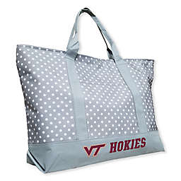 Virginia Tech University Dot Tote Bag