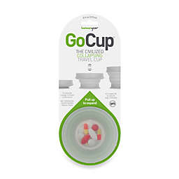 Folding 8-Ounce Clear Go Cup