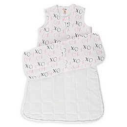 günaPOD® XO Wearable Blanket with WONDERZiP® in Grey/Pink