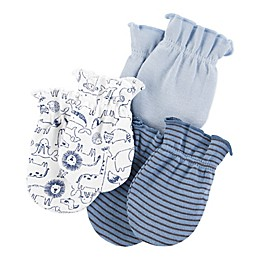carter's® 3-Pack Mittens in Blue