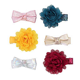 carter's® 6-Pack Plume Mini Bow Hair Clips