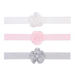 carter's® Size 0-12M 3-Pack Jersey Flower Headbands