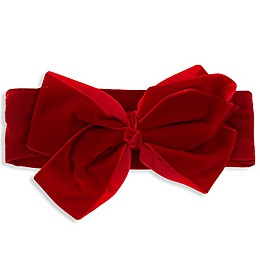 Capelli New York Large Bow Headband in Red