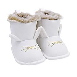 carter's® Newborn Bunny Boot in White
